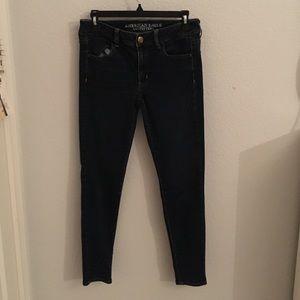 Dark Blue Denim American Eagle Jeans